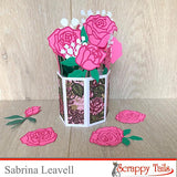 Flower Vase Pop Up Card Die