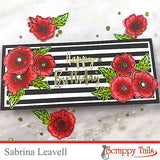 Popping Poppies 6x6 Stamp Set