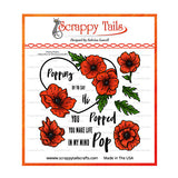 Popping Poppies stamps Scrappy Tails Crafts