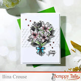 Easter Lilies Coordinating Metal Die
