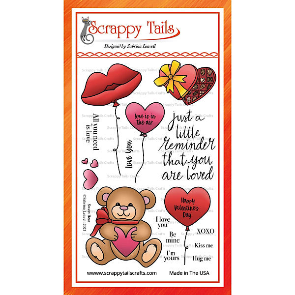 Sweet Bear 4x6 Stamp Set