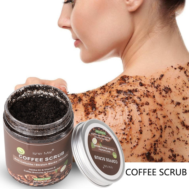 Coffee Body Exfoliation Scrub - Beautiful Beauty