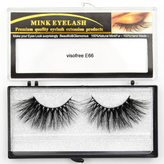 Cruelty Free 3D 25mm Lashes - Beautiful Beauty