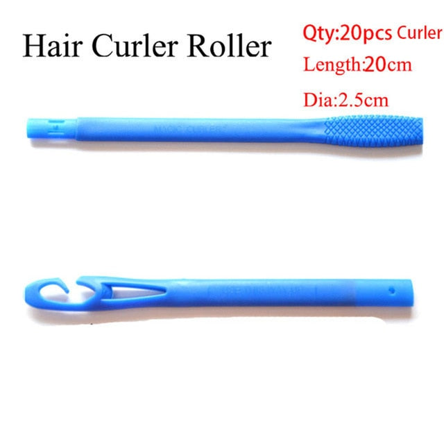 Plastic Long Hair Curler