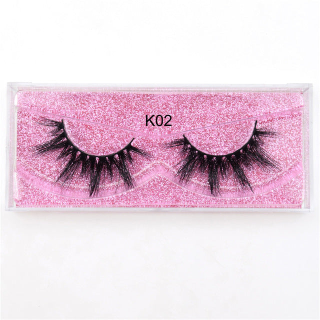 3D Mink Handmade Reusable Natural Eyelashes - Beautiful Beauty