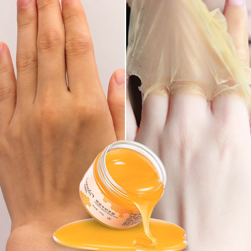 150g Milk Honey Hand Peel off Mask - Beautiful Beauty