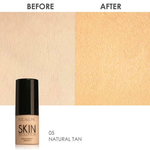 Oil-control Easy to Wear Soft Face Makeup Foundation - Beautiful Beauty