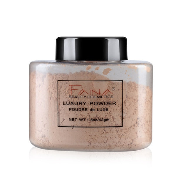 Long-lasting Oil Control Face  Brighten Smooth Loose Powder - Beautiful Beauty