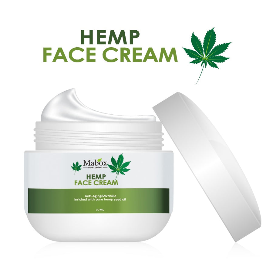 Natural Organic Hemp Seed Oil,Vitamin C,E Facial Moisturizer - Beautiful Beauty