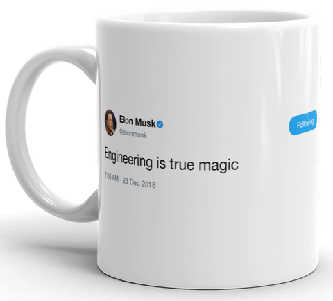 Elon Musk - engineering is true magic