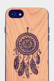 Dream Catcher - Laserx Engraving -wood case - customizer - wood iphone cases - wood products