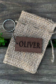 Custom Name Wood Keychain - Laserx Engraving