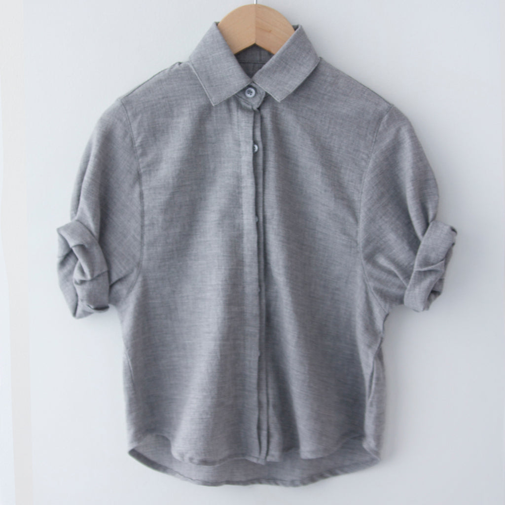 Spanish Banks Button Up - Grey