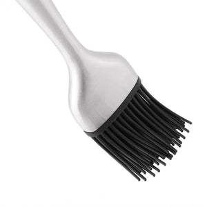 Brush Silicone Bristles Stainless Steel