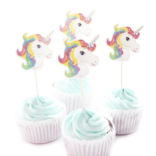 Unicorn Party Cupcake Topper