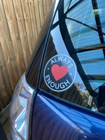 Window Stickers - Always Enough