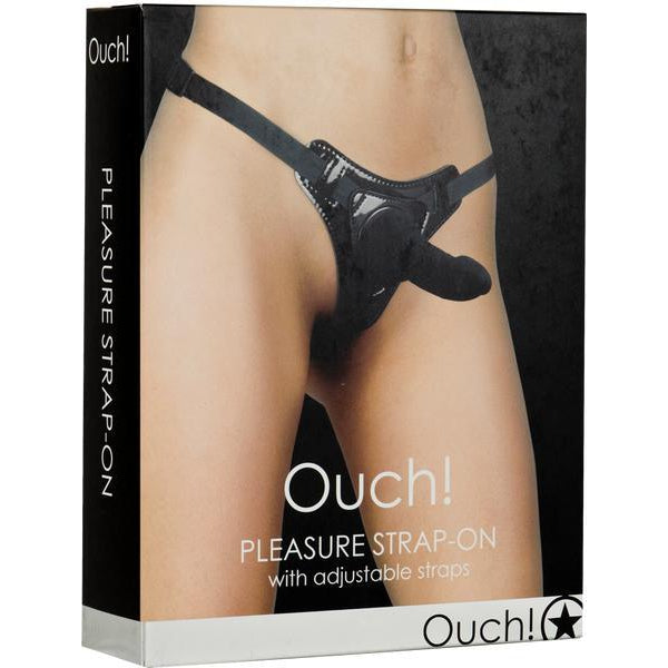 Ouch! Female Pleasure Strap-On (Black)