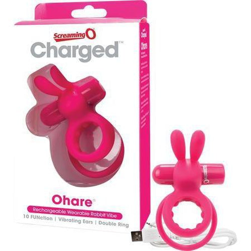 Rechargeable - Cockring - Ohare (Pink)