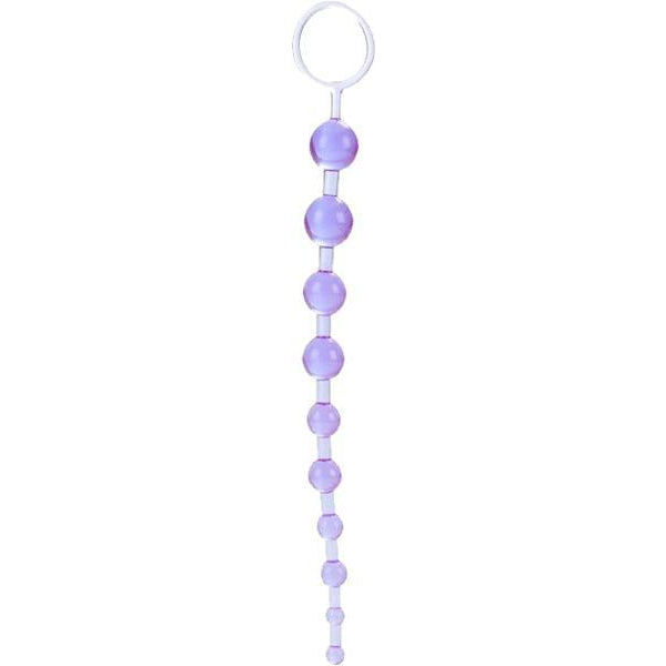 Anal Balls & Beads - X-10 Beads (Lavender) 11 Inch