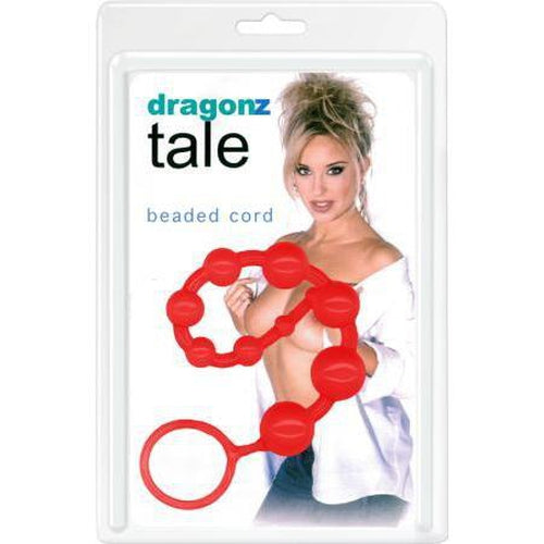 Anal Balls & Beads - Dragonz Tale Beads (Red)