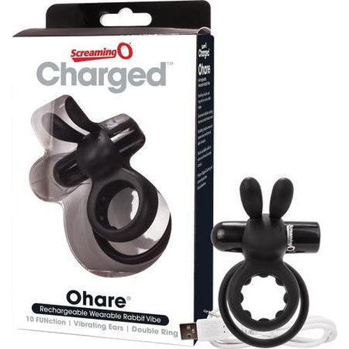 Rechargeable - Cockring - Ohare (Black)