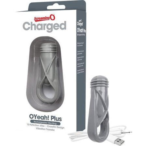 Rechargeable - Cockring - O Yeah (Grey)