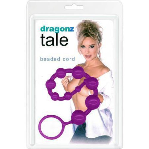 Anal Balls & Beads - Dragonz Tale Beads (Lavender)
