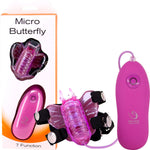 Micro Butterfly Clit Stimulator (Purple)