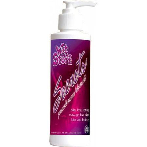 Lubricants & Massage - Wet Stuff Secrets - Pump (250ml)