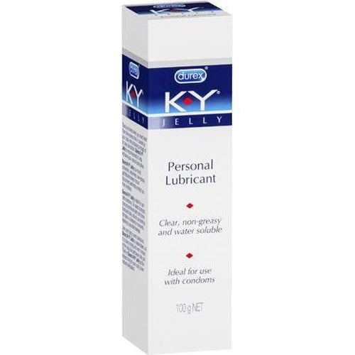 Lubricants & Massage - K-Y Personal Lubricant (100g)