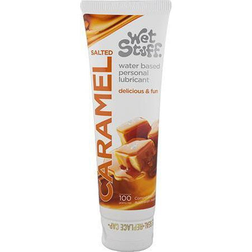 Lubricants & Massage - Wet Suff Salted Caramel - Tube (100g)