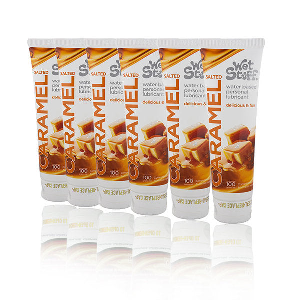 Lubricants & Massage - Wet Stuff Salted Caramel (6 X 100g Tube)