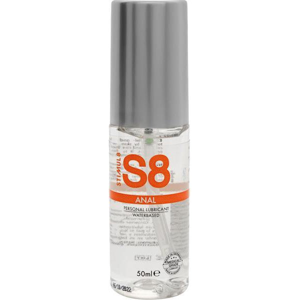 Lubricants & Massage - S8 WB Anal Lube 50ml