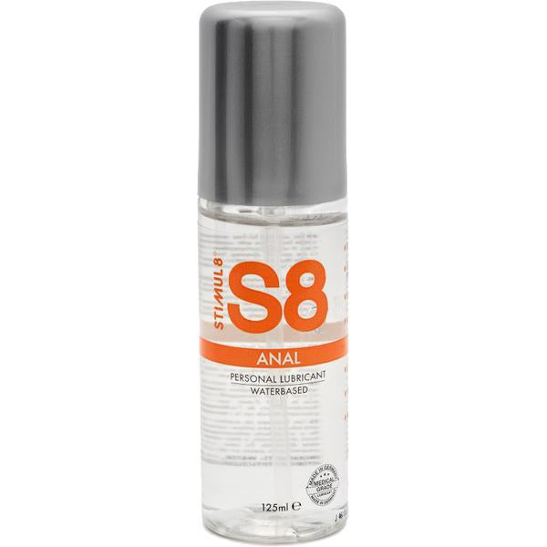 Lubricants & Massage - S8 WB Anal Lube 125ml