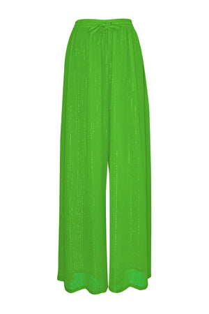 Neon Green Lurex Pants