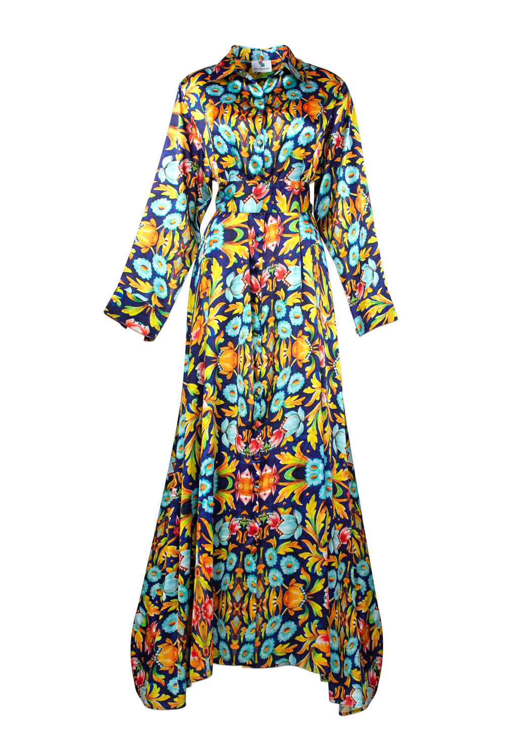 Magdalene Print Shirt Dress