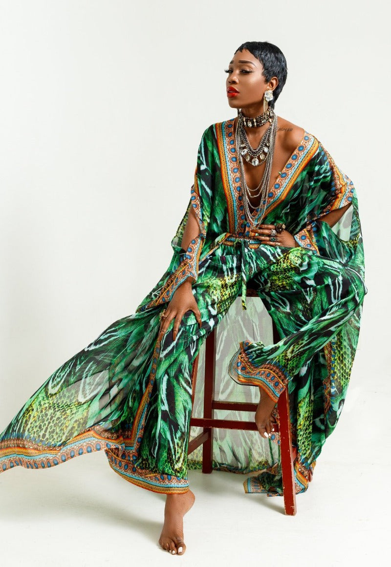 Green Luxury Kaftans