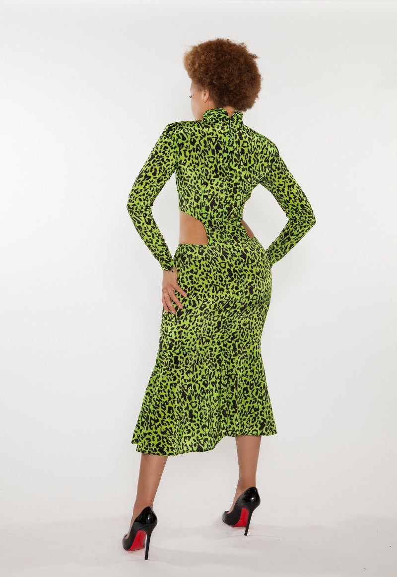 Lavinia Cut-Out Pencil Dress