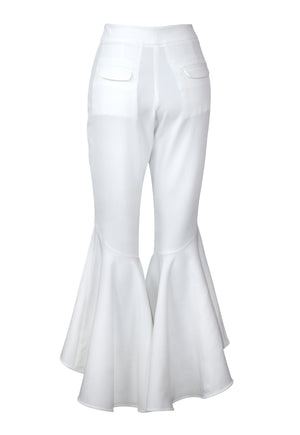 White Reyna Stretch Pants