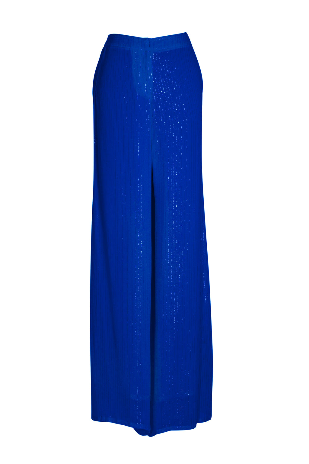 Blue Lurex Laurence Pants
