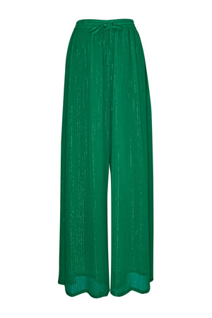 Forest Green Lurex Pants