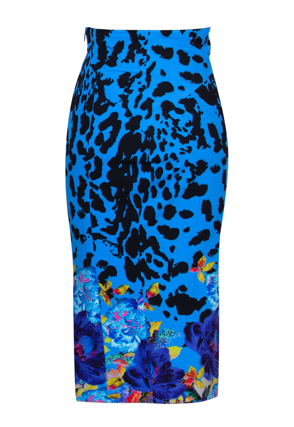 Jezebel Blue Stretch Skirt