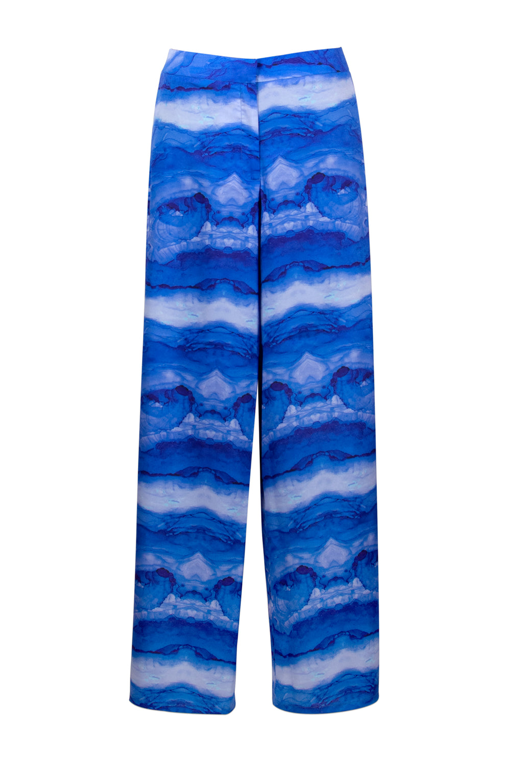 Blue Ocean Printed Pants