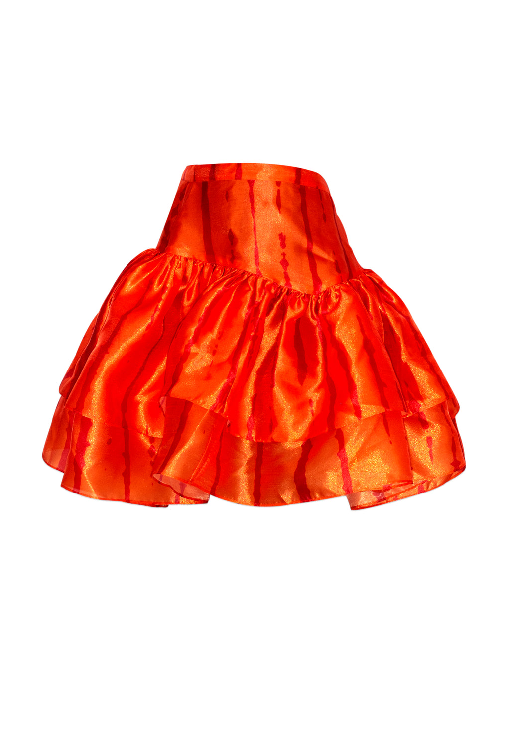 Orange Doreen Skirt
