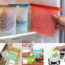 Load image into Gallery viewer, Silicone Food Storage Bag
