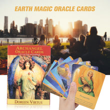 Load image into Gallery viewer, Archangel & Earth Magic Oracle Tarot Card