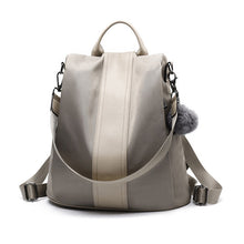 Load image into Gallery viewer, Leather 3 Way Anti-Thief Backpack