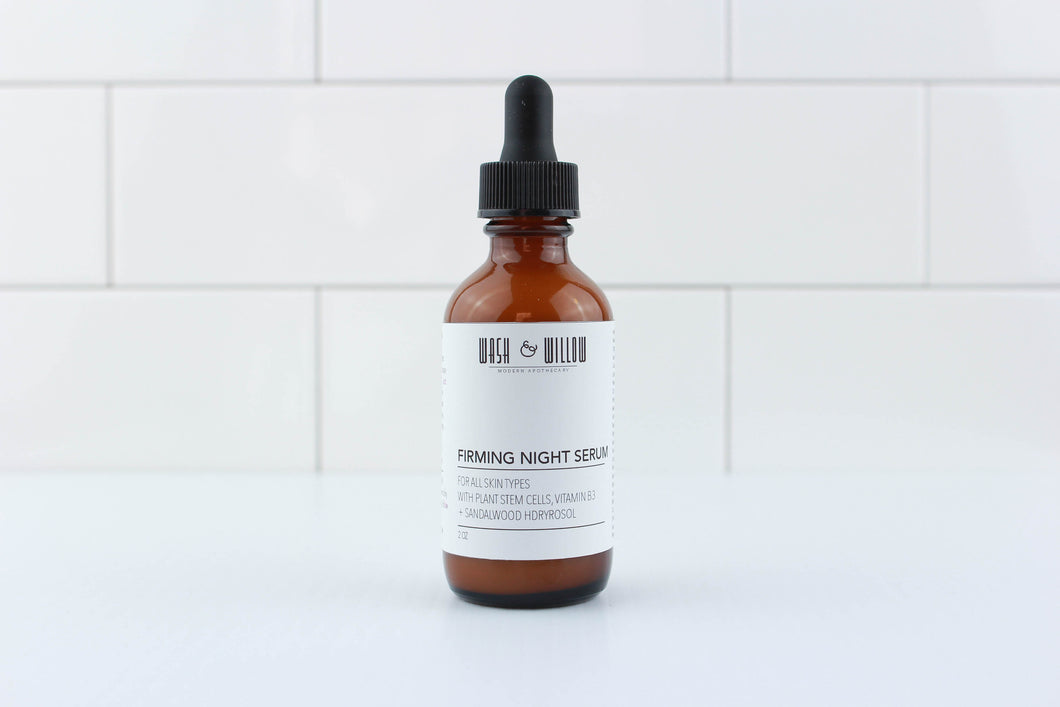 Firming Night Serum - Wash and Willow