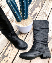 The Rooney Tall Boot {Black}