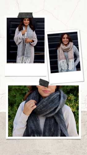The Pebble Creek Scarf